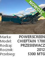 Powerscreen Chieftain 1700 3-DECK