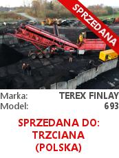 Terex Finlay 693