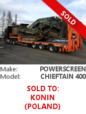 Screener Powerscreen Chieftain 400