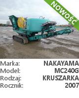 Nakayama MC240G