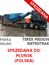 Terex Pegson Metrotrak 900/600