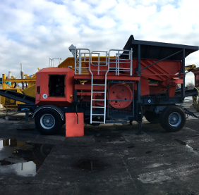 Wheeled jaw crusher MABGO