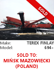 Terex Finlay 694+