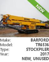 Stockpile conveyor Barford TR6536
