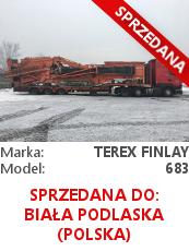 Przesiewacz Terex Finlay 683