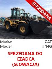 Ładowarka kołowa Cat IT14 G