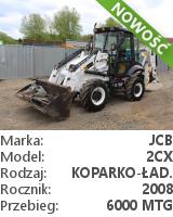 Koparko-ładowarka JCB 2CX