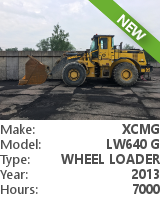Wheel loader XCMG LW 640G