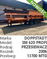 Przesiewacz bębnowy Doppstadt SM 620 Profi