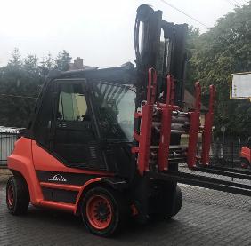 Wózek widłowy Linde H80T-353