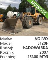 Ładowarka kołowa Volvo L120F