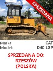 Spychacz Cat D4C LGP SERIES III