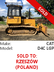 Dozer Cat D4C LGP SERIES III