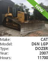 Dozer Cat D6N LGP