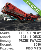Przesiewacz Terex Finlay 694+
