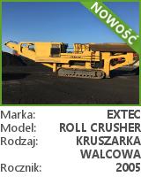 Kruszarka walcowa Extec Roll Crusher