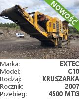 Kruszarka szczękowa Extec C10
