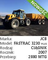 Ciągnik JCB Fastrac 3230 Plus