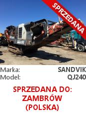 Kruszarka szczękowa Sandvik QJ240 (Extec C10)