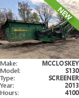 Screener McCloskey S130