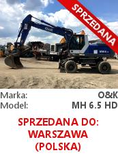Koparka kołowa O&K MH 6.5 HD