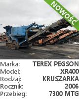 Kruszarka szczękowa Terex Pegson XR400