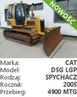 Spychacz Cat D5G LGP