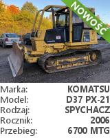 Spychacz Komatsu D37 PX-21
