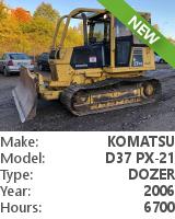Dozer Komatsu D37 PX-21