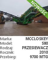 Przesiewacz McCloskey S80