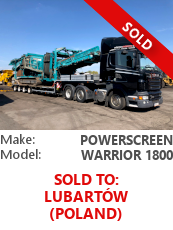 Screener Powerscreen Warrior 1800