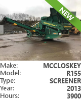 Screener McCloskey R155