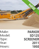 Screener Parker SD125