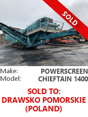 Screener Powerscreen Chieftain 1400