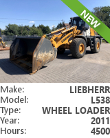Wheel loader Liebherr L 538