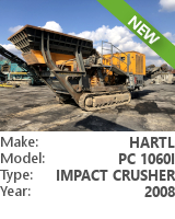 Impact crusher Hartl PC 1060I