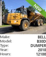 Dump truck Bell B30D