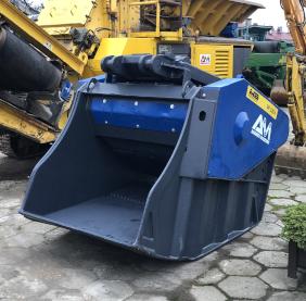 Crushing bucket MB BF 120.4