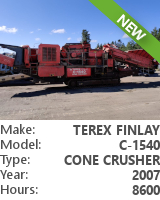 Cone crusher Terex Finlay C-1540